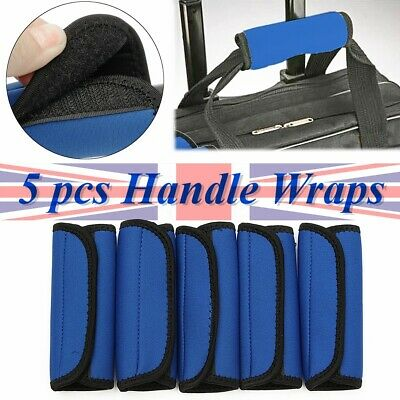 US 5X Luggage Handle Wrap Suitcase Travel Case Bag Neoprene Soft Comfort Cover