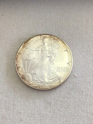 1996 1 oz US American Silver Eagle **KEY DATE** - US Coins