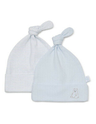 NEW Marquise 2 pack Beanies - Bear Blue