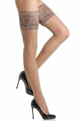 Fiore Sandrine 20 Denier Lace Top Hold Up Stockings
