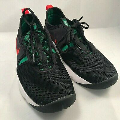 outlet store 0c318 35a8a Nike Loden Womens 896298-003 Black Atom Red Pine Green Training Shoes Size  9.5