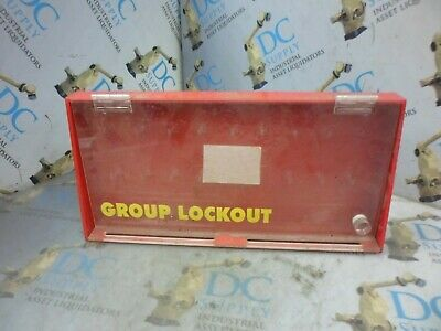"GROUP LOCK 15¾"" x 7-5/8"" WALL MOUNT TAG / KEY HOLDER"