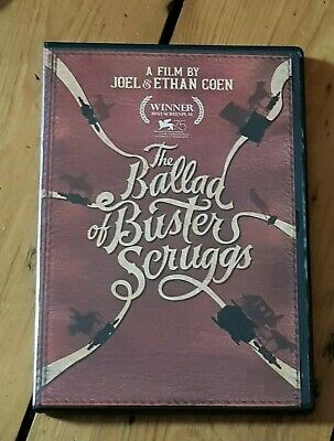 THE BALLAD OF BUSTER SCRUGGS DVD (region 1 us import)