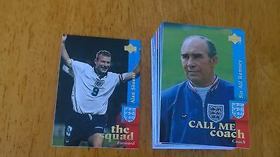 Upper Deck England 1997 Cards - Nr Complete Set (77/82) - Mint Condition