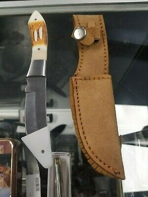"""OLE SMOKY OS51 Green Valley Skinner full tang fixed blade knife 7 1/4"""" overall"""