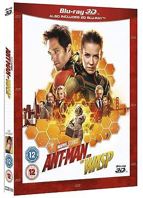 Ant-Man and the Wasp (3D + 2D Blu-ray, 2 Discs, Region Free) *NEW*