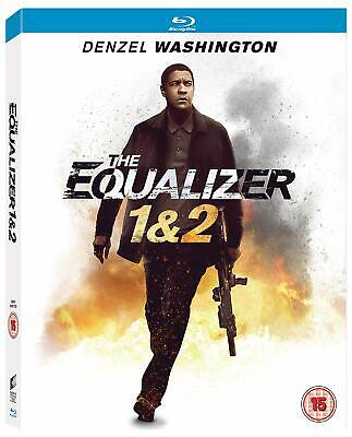 The Equalizer 1 + 2 w/ Slipcover (Blu-ray, 2 Discs, Region Free) *NEW/SEALED*