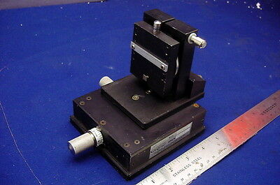 Compact, Precision X - Y Platform W/Micrometer Type Adjusters, Removable Target