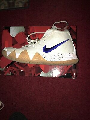 5e0c52dfa76 Nike Kyrie 4 Mens Size 12 Uncle Drew White Gum  160 Authentic Basketball  Shoes