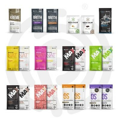Pruvit Keto OS, MAX, NAT ketones 5 or 10 Day NEW or CHOOSE YOUR OWN FLAVOR