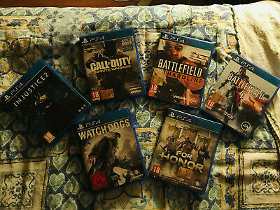 Lotto 6 giochi per PS4 - Playstation 4 - Call of Duty, Battlefield, Watch Dogs,