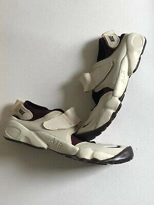 info for b0e4a 4bcb8 Nike Air Rift 9.5 OG Ecru White Maroon Split Toe Tabi Dead Stock DS