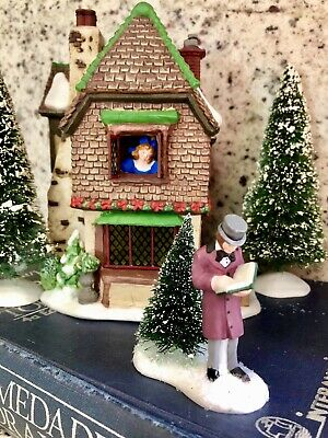 Department 56 Dickens Village A Christmas Carol Series Belle's House Retired