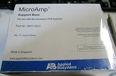 New MicroAmp Support Base for Use with the Gene Amp PCR systems P/N N801-0531