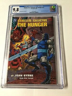 Darkseid Vs Versus Galactus 1 Nn Prestige Format Cgc 9.8 White Pages The Hunger