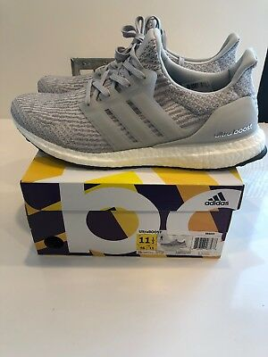 release date d7fa1 6d448 2017 ADIDAS ULTRA Boost 3.0 Clear Grey Size 11.5. Authentic/real/no Low  Balls!