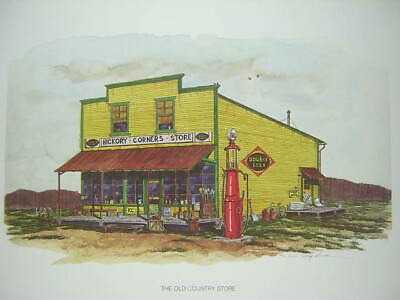 Larry Miller Old Country Store Double Cola Soda Pop Ltd Edition Art Print