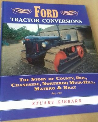 Book. Ford Tractor Conversions, By Stuart Gibbard. Hardback 1995.