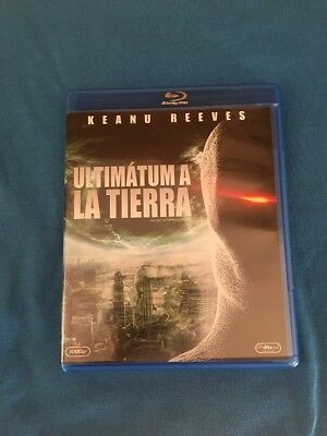 Ultimatum A La Tierra Blu Ray Castellano