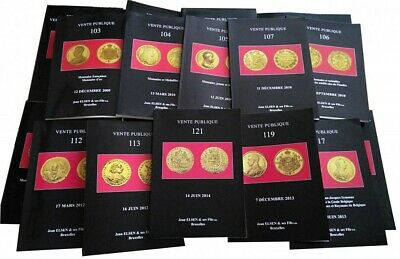 Numismatic Catalogues Elsen - A large choice of catalogues from n°1 to n°138