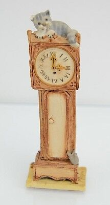 Peter Fagan Colour Box Cats Grandfather Clock