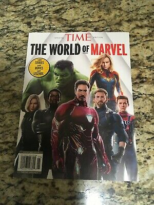 Time Special Edition 2019, The World Of Marvel, Brand New