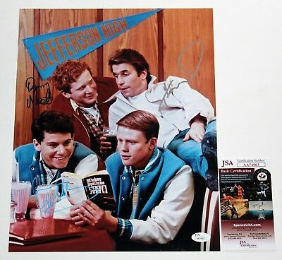 HAPPY DAYS CAST SIGNED 11x14 PHOTO HENRY WINKLER ANSON WILLIAMS DON MOST JSA COA
