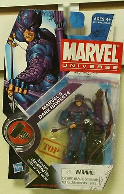 Marvel Universe 3 3/4 Inch Action Figure 3.75 Dark Hawkeye Avengers