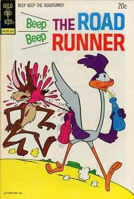 Beep Beep: The Road Runner (1966 series) #38 in VG + cond. Gold Key comics [*4f]