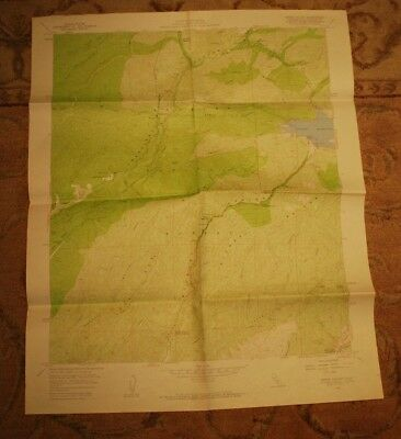1958 USGS Topographical Map, GREEN VALLEY, CALIFORNIA, Angeles National Forest