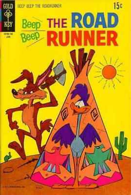 Beep Beep: The Road Runner (1966 series) #24 in VG + cond. Gold Key comics [*x0]