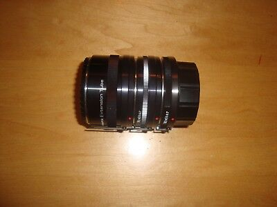 Vivitar Automatic Extension Tube Set AT-1 36mm 20mm 12mm Screw Mount