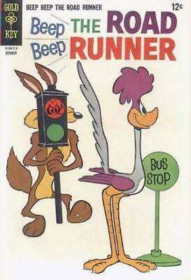 Beep Beep: The Road Runner (1966 series) #5 in VG + cond. Gold Key comics [*2j]