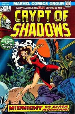 Crypt of Shadows (1973 series) #1 in Very Good + condition. Marvel comics [*0e]