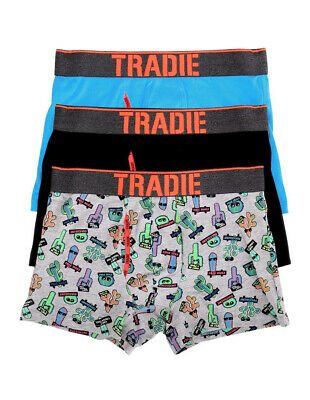 Tradie 3 Pk Trunks - Cant Touch This