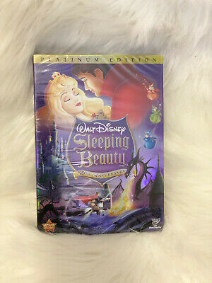 Sleeping Beauty (DVD, 2008, 2-Disc Set)-50th Anniversary Brand New Disney Movie