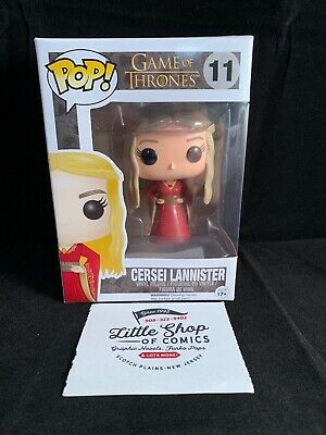 Funko Pop GAME OF THRONES CERSEI LANNISTER #11 vinyl figure Vaulted Box Wear