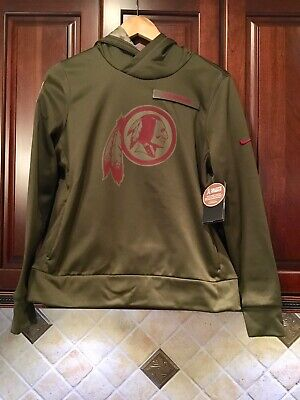 the best attitude a5d85 15418 NIKE WASHINGTON REDSKINS 2017 NFL Salute to Service Hoodie ...
