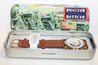 LIONEL TRAINS COLLECTIBLE TRAIN WATCH in PACKAGE