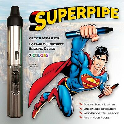 USA Seller Click-N-Hit/Drag/Puff/Go Sneak-A-Toke Torch Lighter