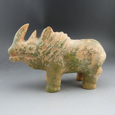 China, jade,collectibles,Hongshan culture,jade,Rhino, statues A601