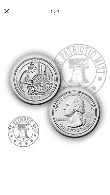 2019 W Lowell National Park Quarter - Great American Coin Hunt - #WQUARTER!