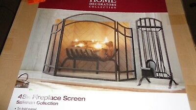 Home Decorators Collection 48in Fireplace Screen Salishan Coll. 1000 050 398