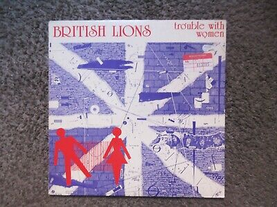 "British Lions (Ex-Mott) ""Trouble With Women"" 1980 Uk Import Nm-/Ex Oop Lp"