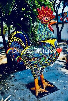 Photo, Wallpaper Digital Picture, Free Worldwide Email Delivery, Rooster Statue