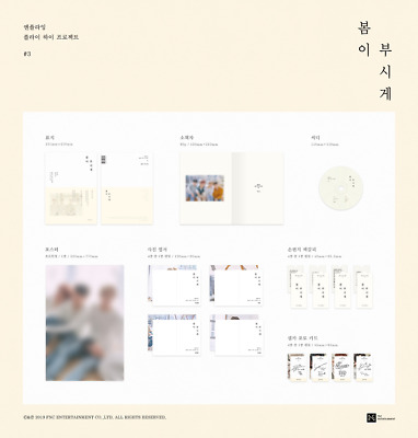 N.FLYING - Spring memorize (5th Mini Album) CD+80p Photobook+Postcard KPOP