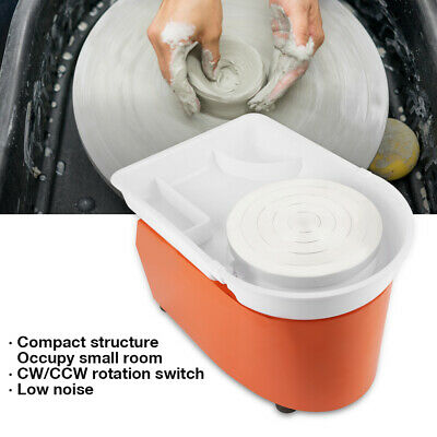 350W Electric Pottery Clay Wheel Machine For Clay Art Craft Shaping Tool