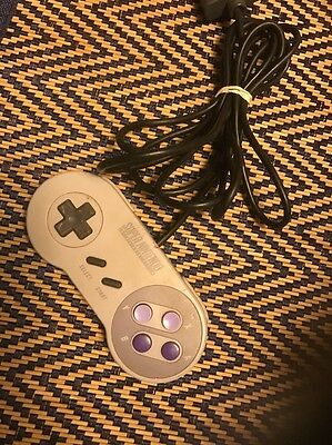 Genuine OEM Official Super Nintendo SNES Wired Gamepad Controller SNS-005 Tested