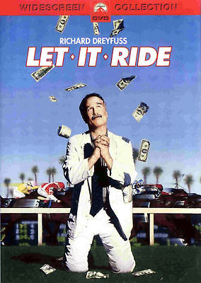 LET IT RIDE (DVD, 2001, Widescreen) - NEW & SEALED!