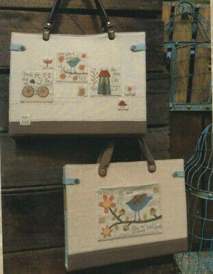 PATTERN - Travel & Sew Bag - pretty embellished PATTERN - Hatched & Patched
